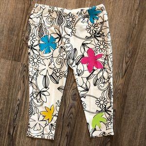 Limeapple Girls & Co Floral Leggings - Size 5